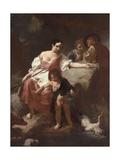 Pastoral Scene, 1740 Giclee Print by Giambattista Piazzetta