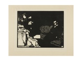 Getting Ready for a Visit, Plate Eight from Intimacies, 1898 Giclee Print by Felix Edouard Vallotton