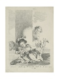 The Child and the Cat, 1778 Giclee Print by Marguerite Gerard