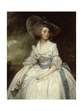 Mrs. Francis Russell, 1785-87 Giclee Print by George Romney