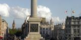 Nelson's Column Plinth Panorama, Trafalgar Square, Westminster, London Photographic Print by Richard Bryant