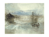 View of Lucerne, 1840-41 Giclee Print by Joseph Mallord William Turner