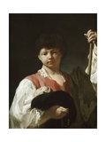 The Beggar Boy, or the Young Pilgrim, 1738-39 Giclee Print by Giambattista Piazzetta