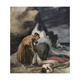 The Tempest, C.1821-23 Giclee Print by Theodore Gericault