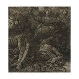The Lamentation, C.1607 Giclee Print by Hercules Seghers