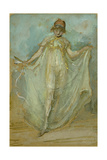 Green and Blue: the Dancer, C.1893 Giclee Print by James Abbott McNeill Whistler