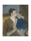 Young Mother, 1888 Giclee Print by Mary Cassatt