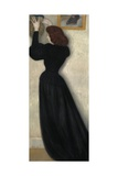 Slender Woman with Vase, 1894 Giclee Print by Jozsef Rippl-Ronai