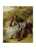 The Lovers, 1855 Giclee Print by William Powell Frith