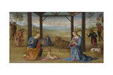 The Nativity, 1500-05 Giclee Print by Pietro Perugino
