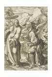 Christ Tempted by the Devil, 1525 Giclee Print by Dirk Jacobsz Vellert