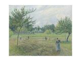 Haymaking at Éragny, 1892 Reproduction procédé giclée par Camille Pissarro