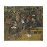 Moulin De La Galette, 1889 Lámina giclée por Henri de Toulouse-Lautrec