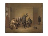 Bar-Room Scene, 1835 Giclee Print by William Sidney Mount