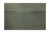 Nocturne: Blue and Gold, Southampton Water, 1872 Giclee Print by James Abbott McNeill Whistler