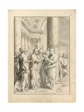 Marriage of the Virgin, C.1640 Giclee Print by Jacques Stella