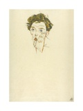 Self-Portrait, 1913 Giclee Print by Egon Schiele