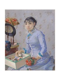 The Milliner, C.1877 Giclee Print by Eva Gonzales