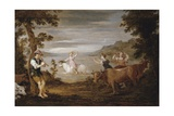 The Rape of Europa, 1654-56 Giclee Print by David the Younger Teniers
