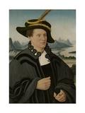 Portrait of Friedrich Rorbach, 1532 Giclee Print by Conrad Faber Von Creuznach