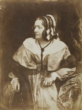 Mrs. Anna Brownell Jameson, 1844 Photographic Print by  David Octavius Hill & Robert Adamson