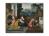 Adoration of the Magi, C.1519 Giclee Print by Jan van Scorel
