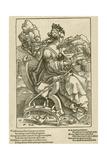 Saint Catherine, 1505-07 Giclee Print by Hans Baldung Grien
