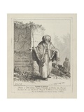 Woman of the People, Plate One from 'Divers Habillements Des Peuples Du Nord', 1765 Giclee Print by Jean-Baptiste Le Prince