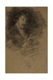 Self Portrait, 1871-73 Giclee Print by James Abbott McNeill Whistler