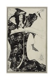 Virgilius the Sorcerer, C.1893 Giclee Print by Aubrey Beardsley