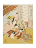 Knowledge (Chi), from the Series Five Cardinal Virtues, 1767 Giclee Print by Suzuki Harunobu