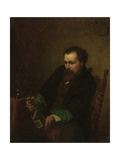 Self-Portrait, 1863 Giclee Print by Eastman Johnson