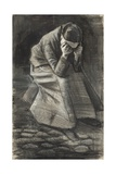 Weeping Woman, 1883 Giclee Print by Vincent van Gogh