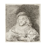 The Card Player, 1641 Giclee Print by  Rembrandt van Rijn