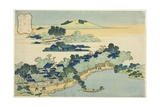 Sacred Fountain at Castle Peak (Jogaku Reisen), C.1832 Giclee Print by Katsushika Hokusai
