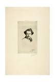 Portrait of Alfred Cadart, 1875 Giclee Print by Marcellin Gilbert Desboutin