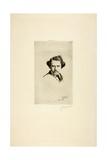 Portrait of Alfred Cadart, 1875 Giclee Print by Marcellin Gilbert Desboutin