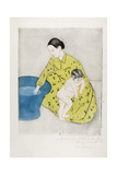 The Bath, 1890-91 Giclee Print by Mary Cassatt