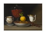 Still Life - Strawberries, Nuts, C.1822 Giclee Print by Raphaelle Peale