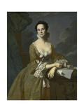 Mrs. Daniel Hubbard (Mary Greene), C.1764 Giclee Print by John Singleton Copley