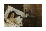 Resting, C.1887 Giclee Print by Antonio Mancini