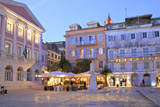 Bank Note Museum of Corfu, Aghiou Spyridonos Square, Corfu Old Town, Corfu, the Ionian Islands Photographic Print by Neil Farrin