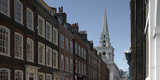 Fournier Street with Christ Church, Spitalfields, London Photographic Print by Richard Bryant