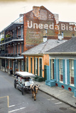 Louisiana, New Orleans, French Quarter, Dumaine Street, Historic Uneeda Biscuit Sign Photographic Print by John Coletti