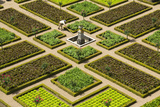 Formal Gardens, Chateau of Villandry, Indre Et Loire, Loire Valley, France Photographic Print by Peter Adams