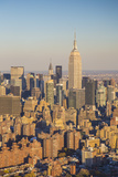Empire State Building, Manhattan, New York City, New York, USA Photographic Print by Jon Arnold