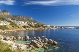 Beach Near Camps Bay in Cape Town, Western Cape, South Africa Photographic Print by Peter Adams
