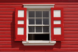 Caribbean, Antigua, St. John'S, Heritage Quay, Traditional Shutters Photographic Print by Alan Copson