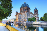 Germany, Deutschland. Berlin. Berlin Mitte. Berlin Cathedral, Berliner Dom. Photographic Print by Francesco Iacobelli