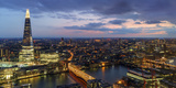 Europe, United Kingdom, England, Middlesex, London, the Shard Photographic Print by Mark Sykes